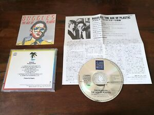Buggles-The-Age-of-Plastic-Japan-Press-Cd-Ottimo-Video-Killed-Radio-Stars