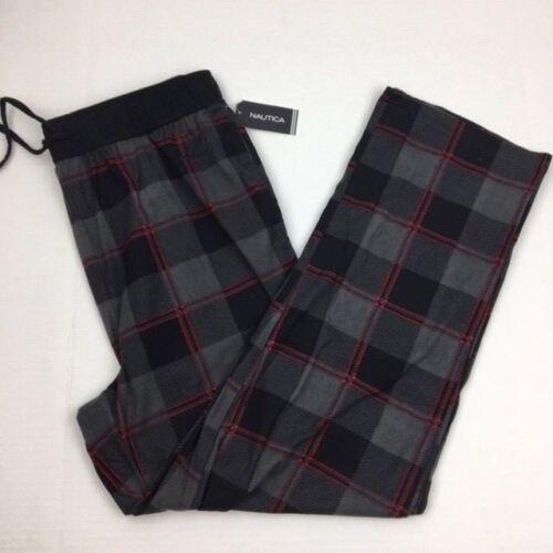 NEW Mens Nautica Sleepwear Soft Fleece Lounge Pajama Pants Large