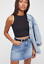 NEW-Free-People-Intimately-High-Neck-Seamless-Top-in-Black-XS-S-M-L-26-20 thumbnail 1