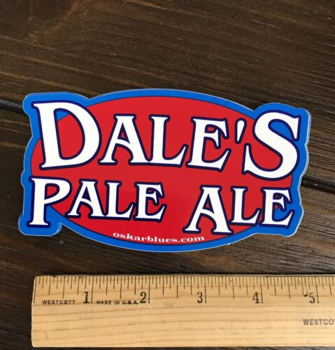 NEW DALES PALE OSKAR BLUES BREWING BREWERY BEER STICKER Colorado Oscar IPA