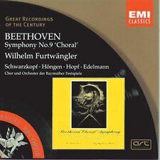 "FURTWANGLER Beethoven: Symphony No. 9 ""Choral""  EMI CD New Sealed Off"