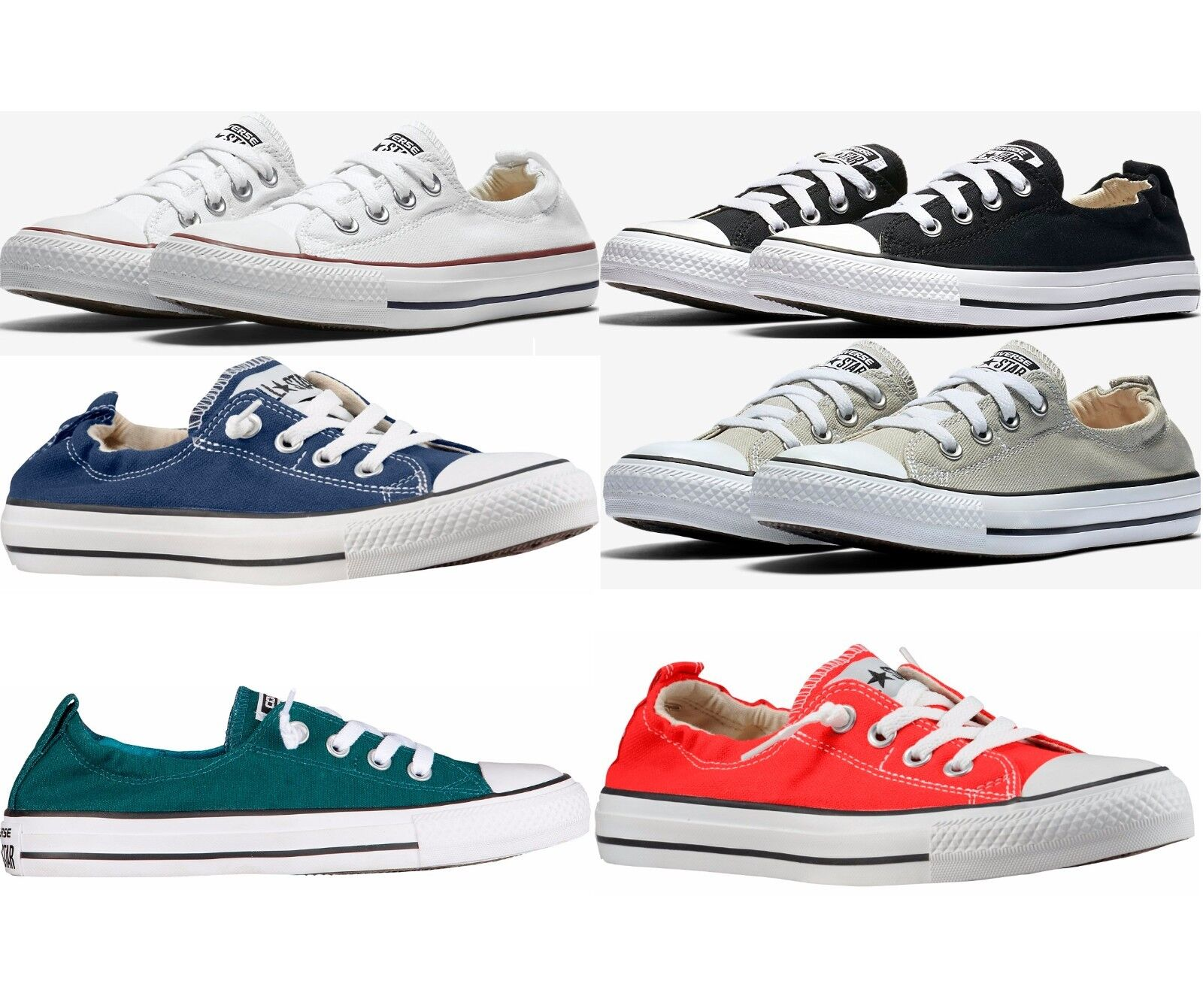 CONVERSE CHUCK TAYLOR ALL STAR SHORELINE SLIP WOMEN'S SLIP-ON COMFY SNEAKERS
