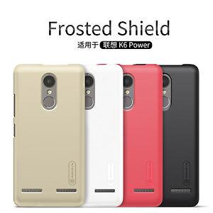 Nillkin-Super-Frosted-Shield-Matte-Plastique-Rigide-Housse-Cas-pour-Lenovo-K6-Power