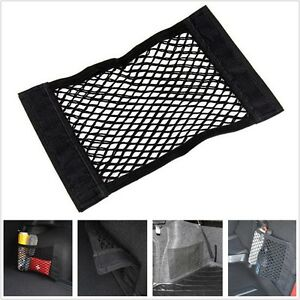 2019-Black-Nylon-Car-Trunk-Rear-Cargo-Organizer-Storage-Elastic-Mesh-Net-Holder
