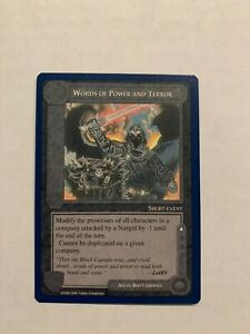 Favor of the Valar Middle Earth CCG The Wizards Unlimited