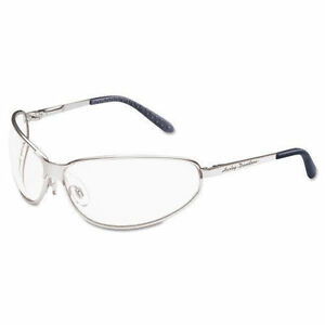 823b1b25ac7 Harley-Davidson HD501 Safety Glasses with Silver Matte Frame and Clear Tint  Hardcoat Lens
