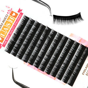 aa2bc2da650 Image is loading Natural-Individual-False-Eyelash-Lash-Extension-B-C-D-Curl-