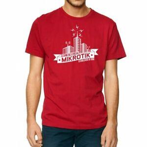 mikrotik logo networking top original t shirt size s 708747436174 ebay ebay