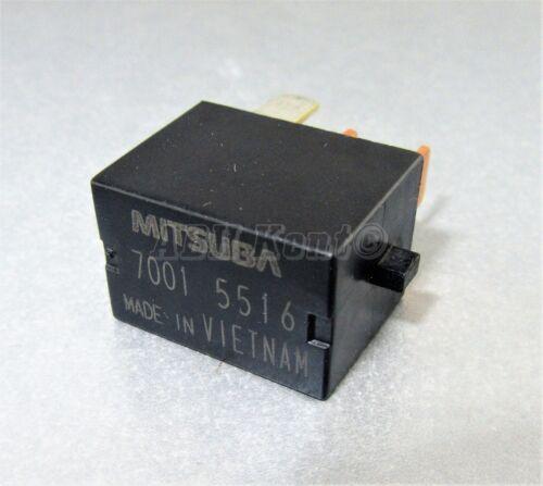 644-Honda 4-Pin poder Negro Micro Relé Mitsuba 7001-5516 12VDC 70015516 00-15