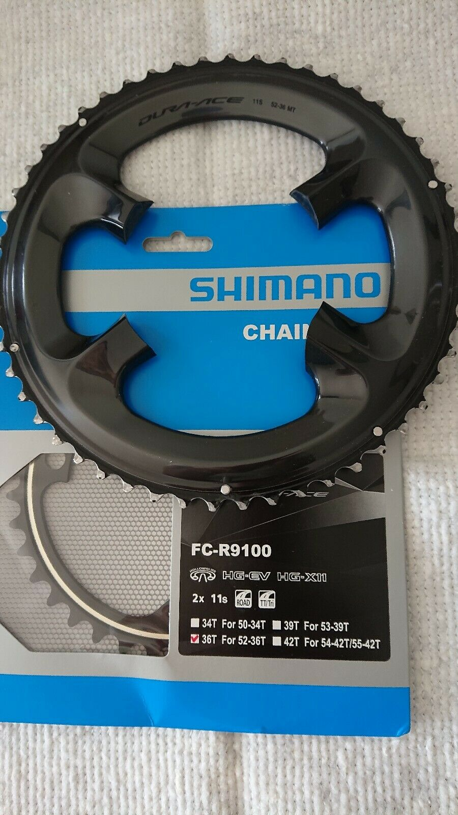52  36 Shiuomoo Dura Ace 9100 Chainrings Midcompact 4 DuraAce Crankset 9000