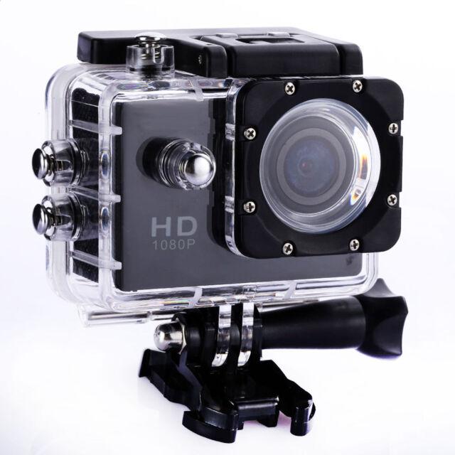 2018 FHD 1080P Helmet Bike DVR Sports Action Waterproof Camera Camcorder