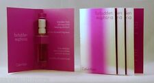 Calvin Klein FORBIDDEN EUPHORIA for Her EDP Spray Samples .04 oz LOT of 4 FRESH!
