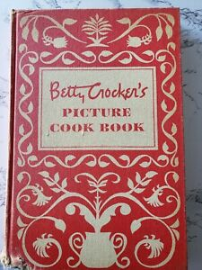 Betty Crocker's Picture Cook Book - 1st Edition 7th Printing (1950, Hardcover)