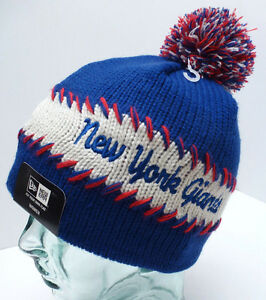 3ad19225af4 NFL NY GIANTS Women s Sport Beanie Winter Hat  Blue Green  New Era ...