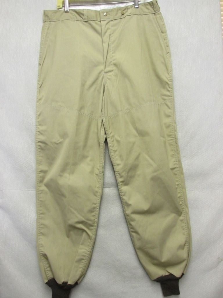 A6965 Red Head Light Brown Waterproofed Bird Hunting NW oT Pants Men 32x32