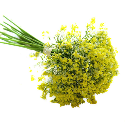 Artificial Baby Breath Gypsophila Flowers Bouquet Gedding Party Decor MK8S