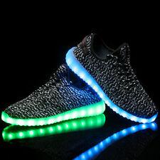item 4 Unisex 7 LED Light Lace Up Luminous USB Shoes Men Women Kids Sneakers  Sportswear -Unisex 7 LED Light Lace Up Luminous USB Shoes Men Women Kids ... 0ae9d6ccd3