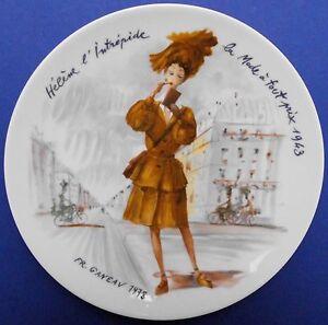 Frankreich-Porzellan-Sammelteller-Porcelaine-de-Limoges-Teller-Limitiert-TOP