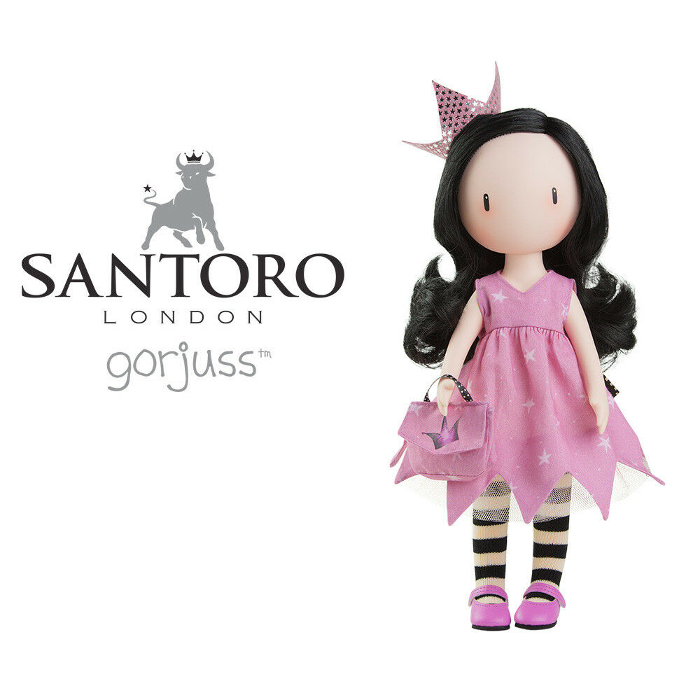 SANTGold. GORJUSS COLLECTION. DREAMING 32CM. REF. 04911. PAOLA REINA. NEW
