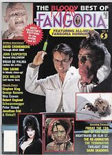 BLOODY BEST OF FANGORIA MAGAZINE # 5 HORROR ELVIRA WES CRAVEN STEPHEN KING