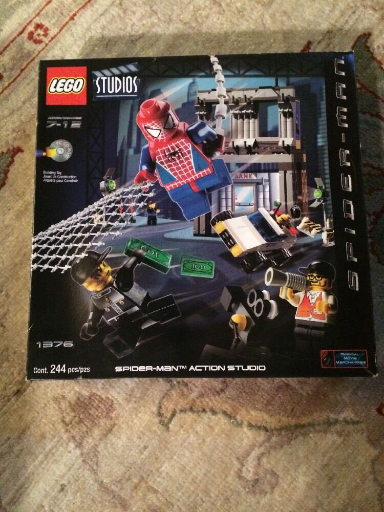 Lego Spider-Man 1376 RetiROT Set 2002