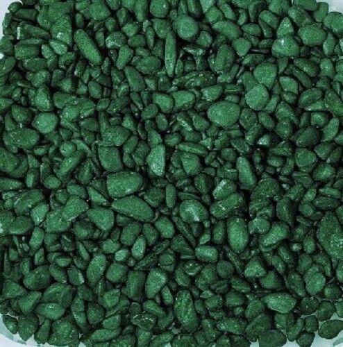 grün MOOSGRÜN -52 runde Dekosteine 0,5 kg NUGGETS 500 g Farb- Steine 6-8 mm