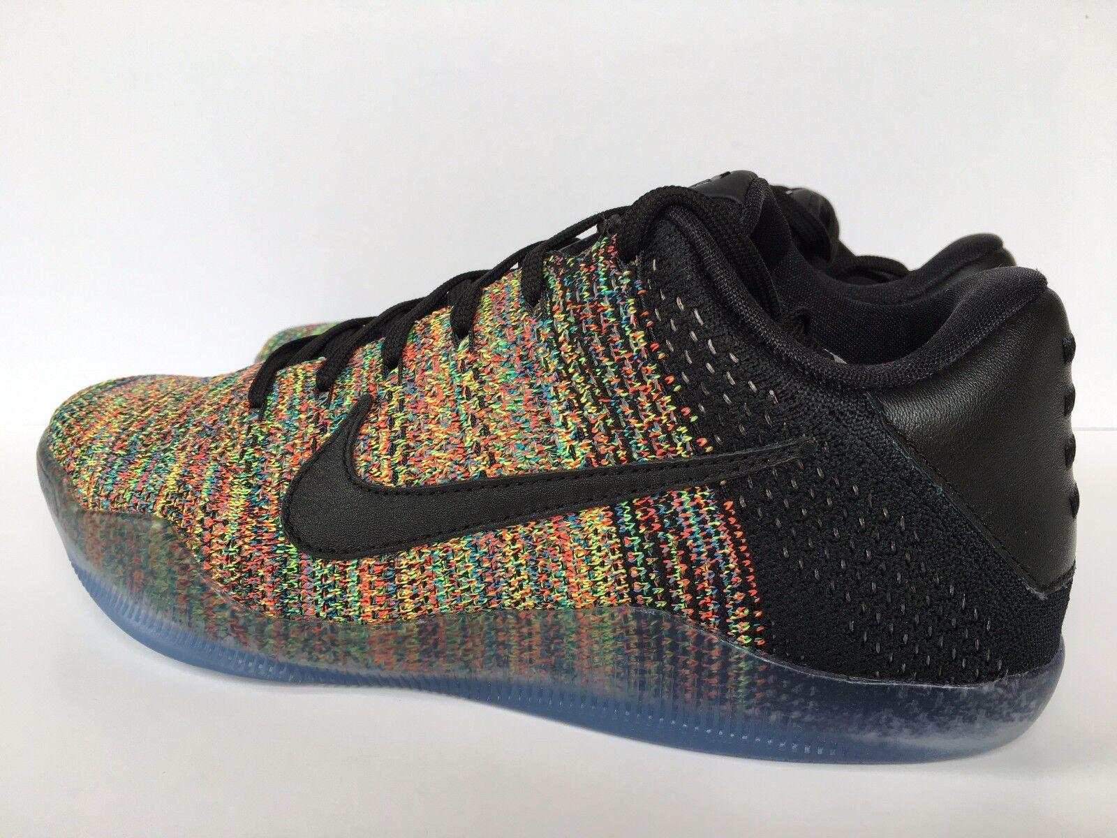 483fa7337185a ... Nike Kobe XI Elite Low Flyknit iD Multicolor Multicolor Multicolor 2016 Men  SZ 8  903710 ...