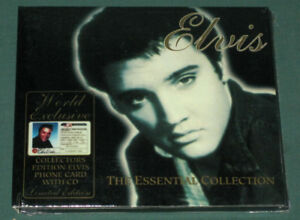 Elvis-Presley-The-Essential-Collection-Digi-CD-1994-Phone-Card-Australia-SEALED