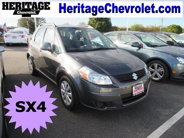 2010 Suzuki SX4 Crossover Hatchback 4-Door