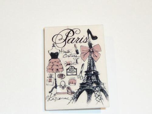 Broche ACRÍLICO. CG1880-diseño de moda parisina-libre de Reino Unido P/&p