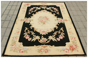 Image Is Loading 4x6 Aubusson Area Rug Shabby French Chic Home