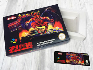 Boite SNES / Box : Demon's Crest