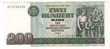 EAST GERMANY (DDR):  200 MARKS  (1985) (DDR)