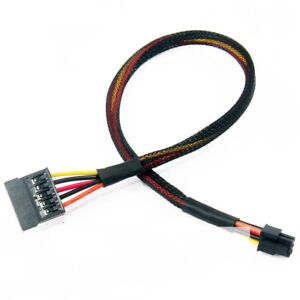 50x Mini 6 Pin to PCI-E 6Pin Graphics Video Card Power Cable for IOS G5 Mac Pro