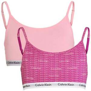 9d67c7536e Image is loading Calvin-Klein-GIRLS-2-Pack-CK-Modern-Cotton-