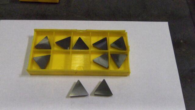 TPG-321 Grade C2 Carbide Inserts 10 pcs.