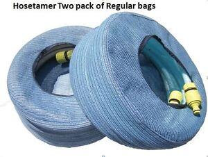 Image is loading New-Water-Hose-Bag-Pack-of-2-Caravan-  sc 1 st  eBay & New Water Hose Bag Pack of 2 Caravan Camping RV Storage Hosetamer   eBay