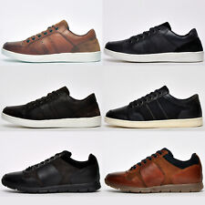 SALE - Red Tape REAL LEATHER Casual Fashion Comfort Sneakers Trainers FREE P&P