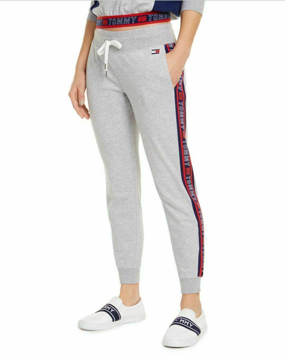 Tommy Hilfiger Sport Logo Jogger Pants MSRP Size L # 19A 338 NEW