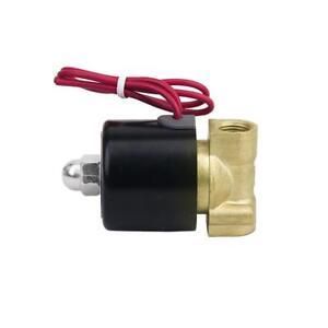 AC-220V-1-4-039-039-electrovanne-electrique-Vanne-Solenoid-Valve-Pour-Eau-Air-Diesel