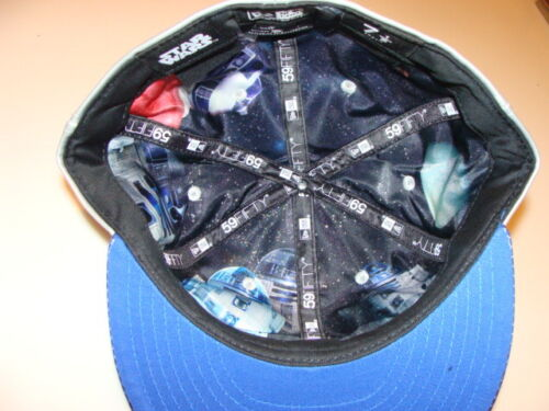 New Era Cap Hat Star Wars The Force Awakens Character Face R2D2 Blue Droid 7 1//8
