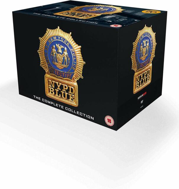 NYPD BLUE - The Complete Collection Seasons 1-12 DVD Boxset 70 Disc New & Sealed