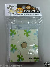 DAISO JAPAN DESK-TOP FACIAL BLOTTING PAPER 1pack 250sheerts MADE IN JAPAN