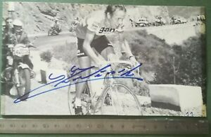 BB19-Photo-dedicacee-Autographe-BE-Course-cycliste-Equipe-GAN-A-identifier