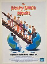 THE BRADY BUNCH MOVIE / ORIGINAL VINTAGE VIDEO FILM POSTER / SHELLEY LONG 2