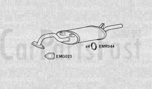 Exhaust-Rear-Box-Mitsubishi-Galant-2-0-Petrol-Saloon-06-1986-to-03-1988