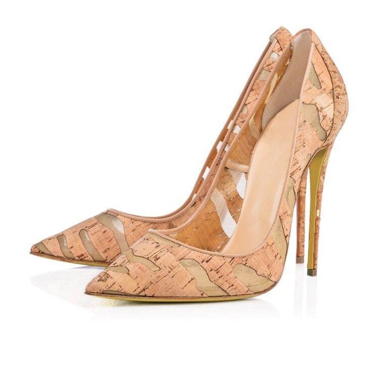 Fashion femmes compensés à Bout Pointu Talons Aiguilles Escarpins Talons Hauts Fête Sexy chaussures femmes S531