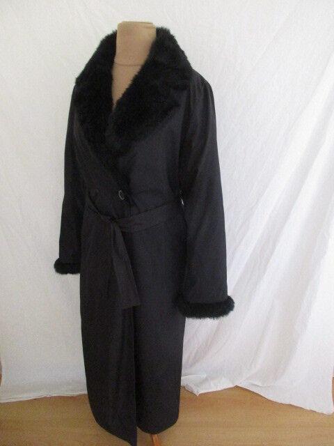 Mantel BALMAIN black Größe 38 à - 67%