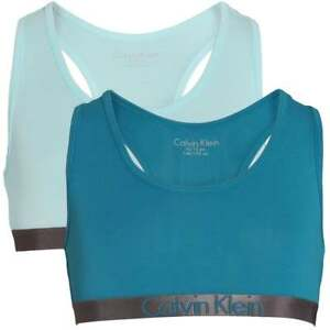 9ea14c93e6 Image is loading Calvin-Klein-GIRLS-2-Pack-CK-Customized-Stretch-