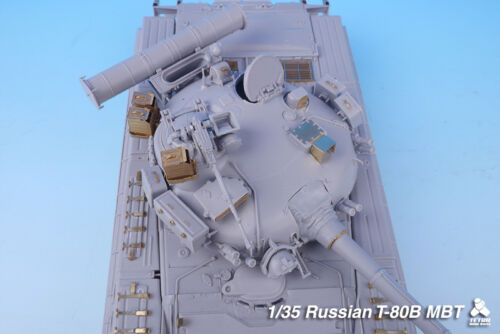 Tetra Model 1//35 Russian Main Battle Tank T-80B Detail-up Set for Trumpeter kit
